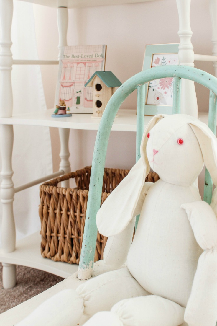 bunny nursery decor