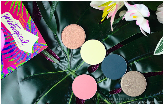 eyeshadow ombretti psicotropical collection neve cosmetics