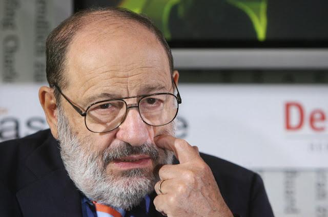 """Umberto Eco, autor de """"O nome da rosa"""" se foi, sua história não"""
