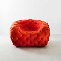 Kırmızı modern koltuk modeli