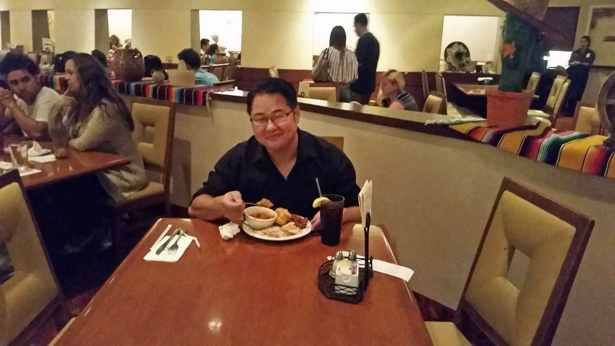 Mark Lim at Potrero Canyon Buffet in Morongo Casino