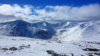 Cairn Toul and Braeriach Corries from Ben MacDui