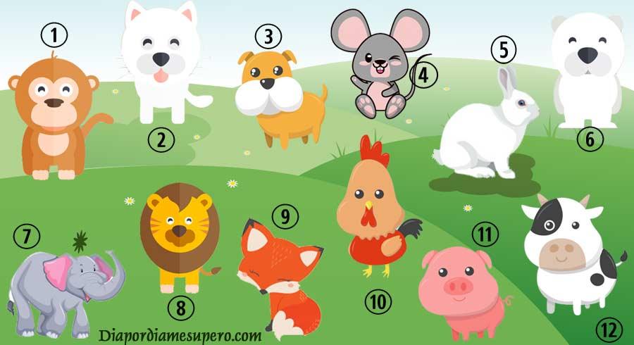 Test: Descubre cómo te ven los demás y tu mism@, eligiendo tu  animal favorito