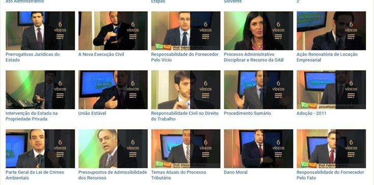 Canal Prova Final - concursos públicos e OAB