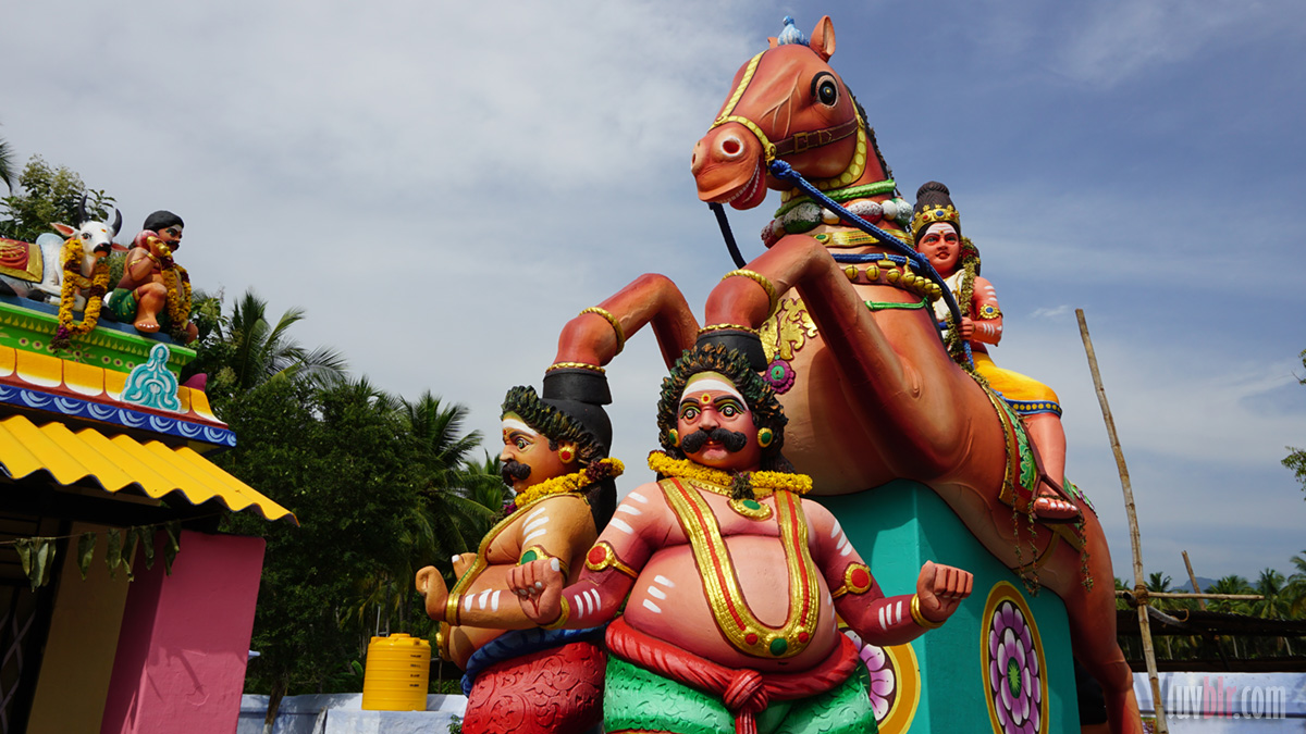 Ayyanar on the horse