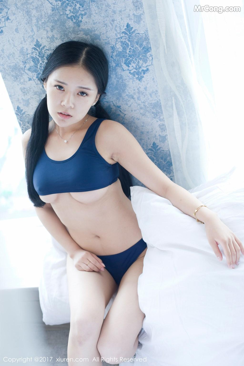 Image XIUREN-No.841-Hong-Qi-Qiu-MrCong.com-007 in post XIUREN No.841: Người mẫu Hong Qi Qiu (红气球) (50 ảnh)