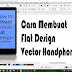 Belajar Membuat flat design handphone di Coreldraw