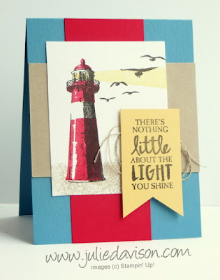 Stampin' Up! High Tide masculine card ~ 2017 Occasions Catalog Carryover ~ www.juliedavison.com