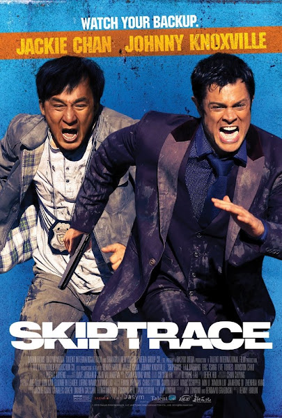 Poster Of Skiptrace 2016 720p Hindi BRRip Dual Audio Full Movie Download