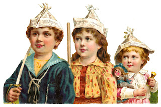 children victorian images clipart digital downloads