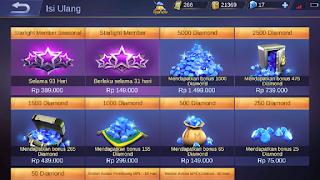Cara Membeli Diamond Mobile Legend via Pulsa 3 (tri)