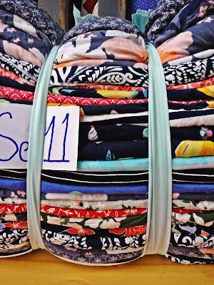 Hình ảnh vải khúc cotton lụa Hàn Quốc