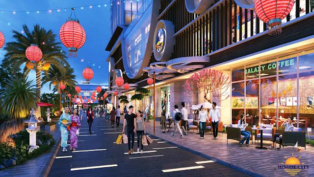 trung tâm thương mại Hinode City