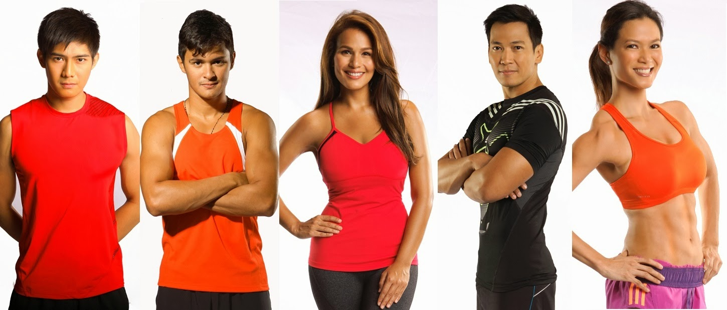 Biggest Loser Doubles hosts and coaches