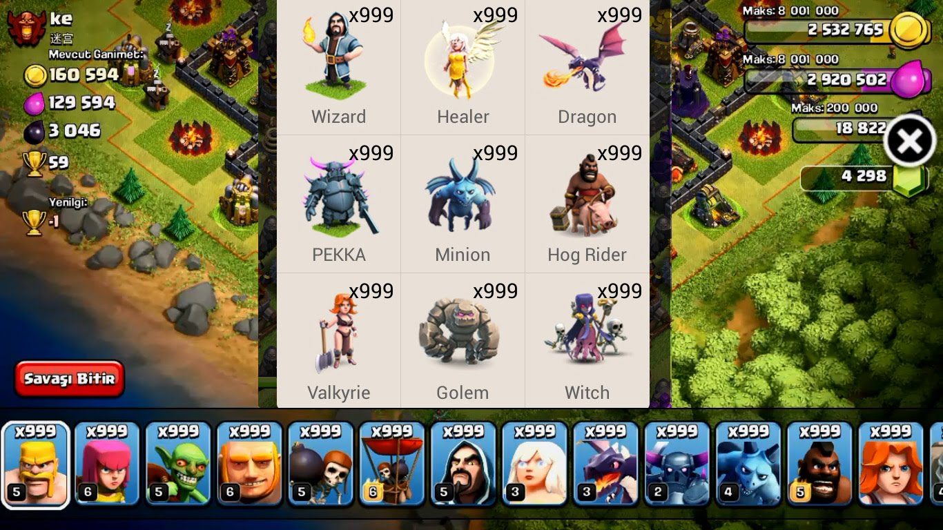 Clash Of Clans Hack Xmod Game And Movie