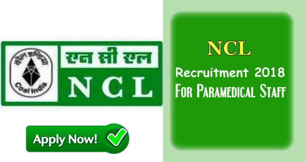 Northern Coalfields Limited Recruitment 2018 Apply Online