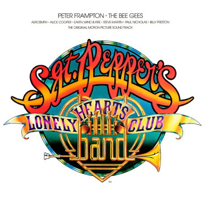 cover of the soundtrack to the 1978 movie 'Sgt. Pepper's Lonely Hearts Club Band'