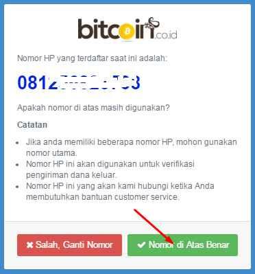Cara Daftar Buat Akun dan Verifikasi Bitcoin