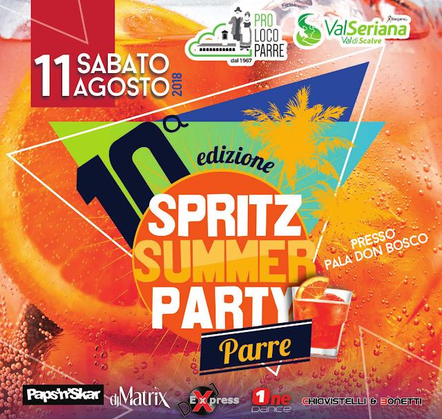Spritz Summer Party Chiavistelli & Bonetti Parre Bergamo Italy