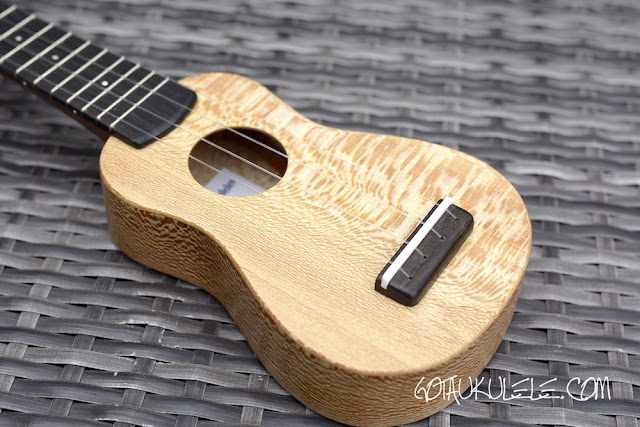 Andy's Ukuleles Piccolo body