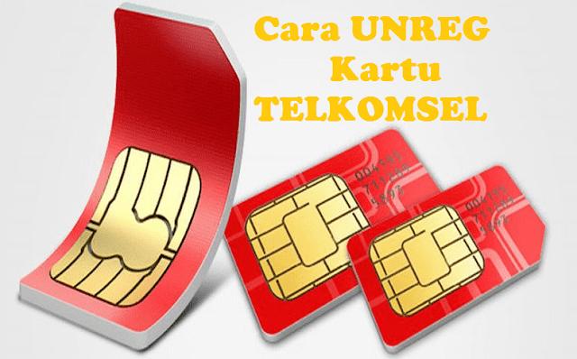 Cara Lengkap UNREG Kartu Telkomsel, As, Loop  Mudah Dan Efektif