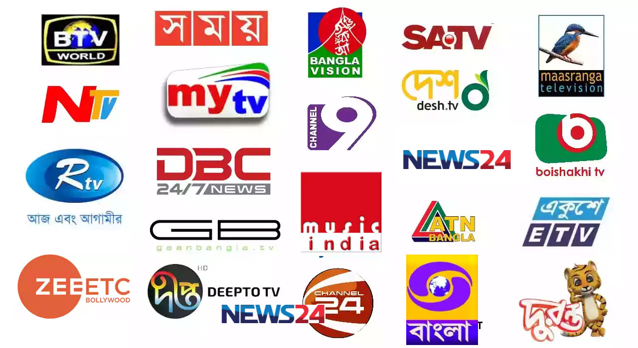 List of free channels in india