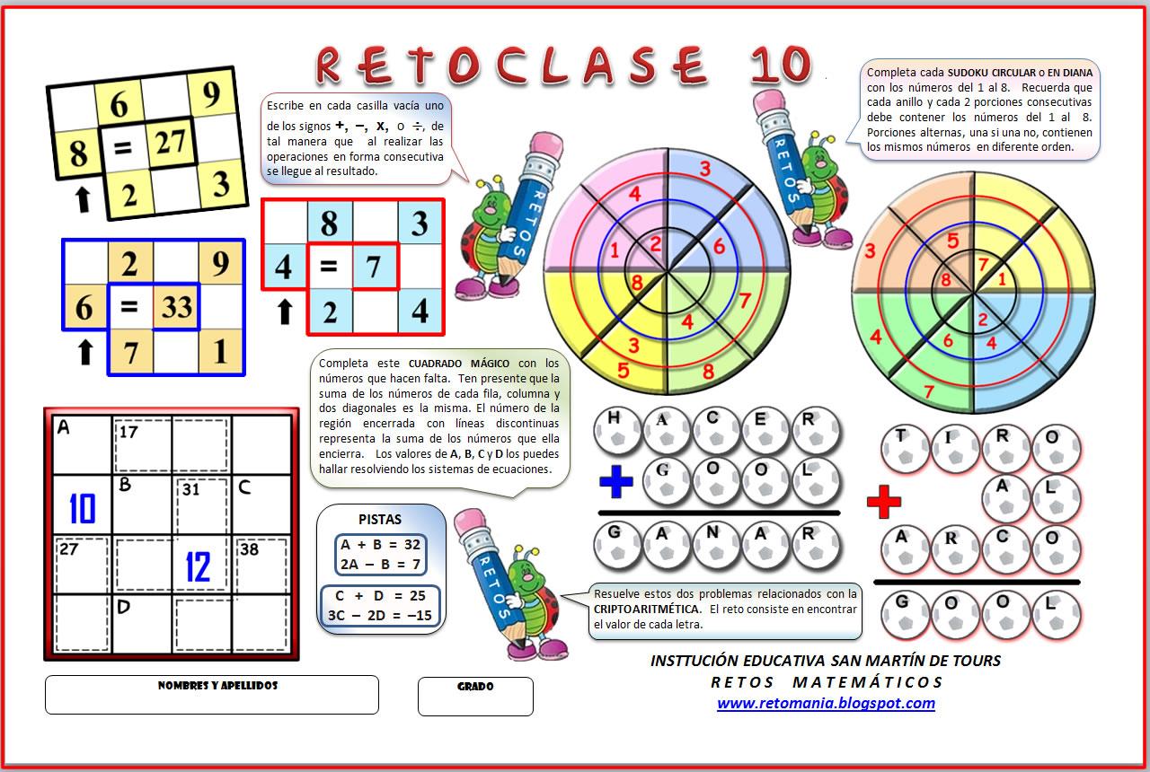 Julio 2011 Retos Matematicos