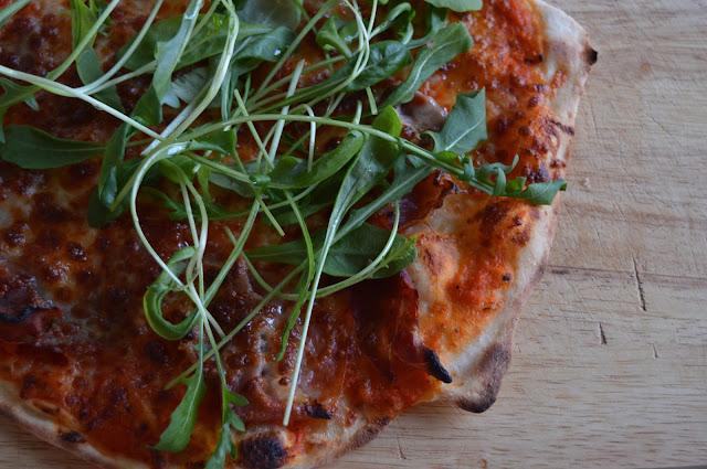 esitaikina, parmankinkku pizza, pizza, italialainen