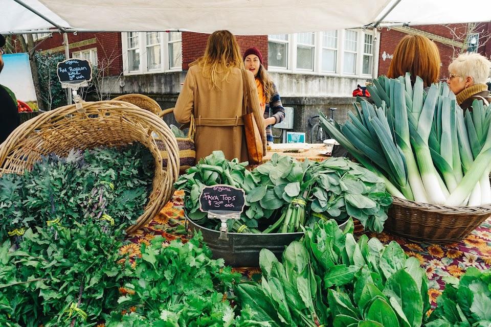ポートランド・ファーマーズ・マーケット(Portland Farmers Market) PSU