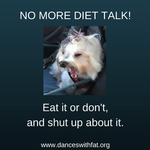 No Diet Talk!