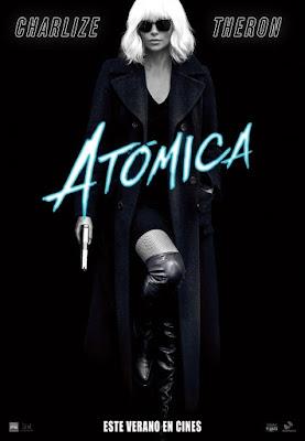 Atomic Blonde 2017 DVD Custom HD Latino