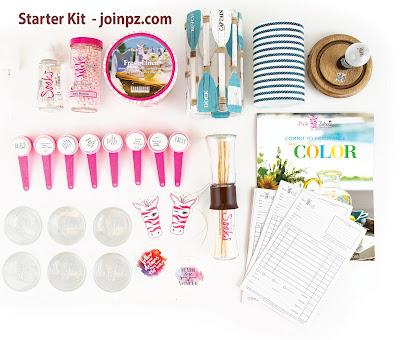 Pink Zebra Standard Starter Kit