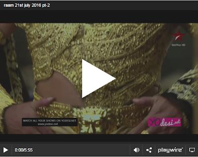 Siya Ke Ram 21th July Episode 226 Watch Online