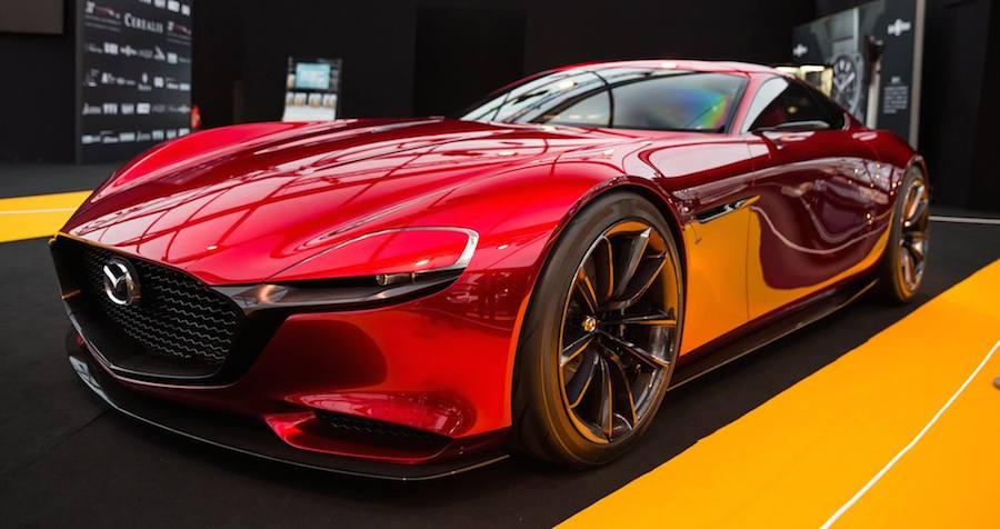 Ã�ランスで「最も美しいコンセプトカー」に選ばれた「マツダ・rx Vision」、ジュネーブショーでも披露へ
