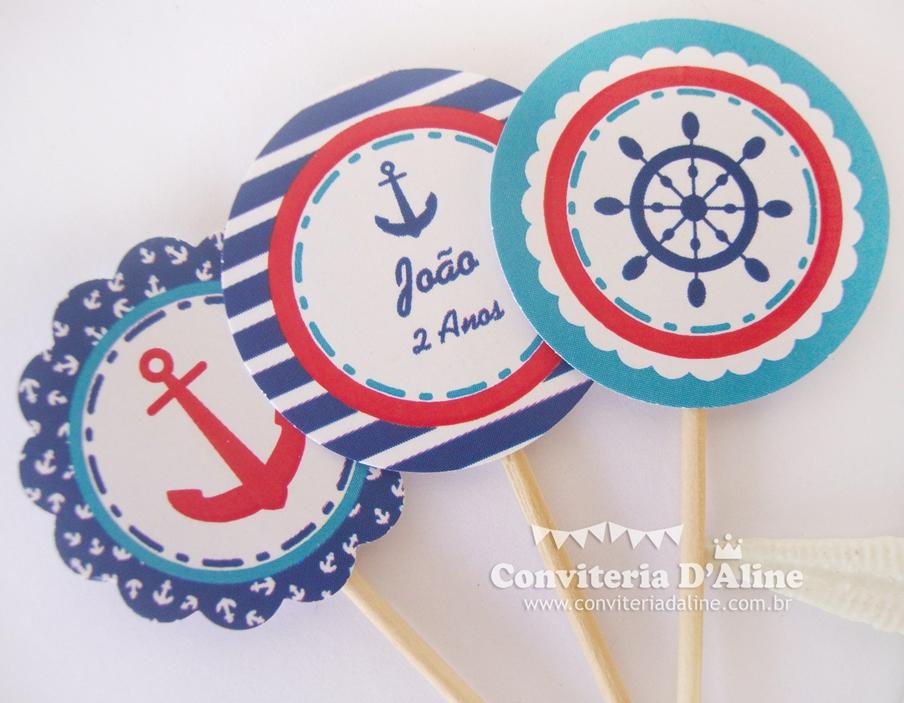 decoracao festa marinheiro