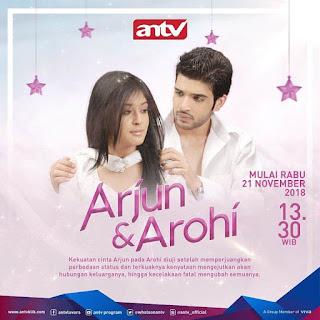 Nama asli Sinopsis dan biodata pemain Arjun & Arohi ANTV lengkap