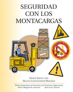 Manual de seguridad para el  manejo de montacargas