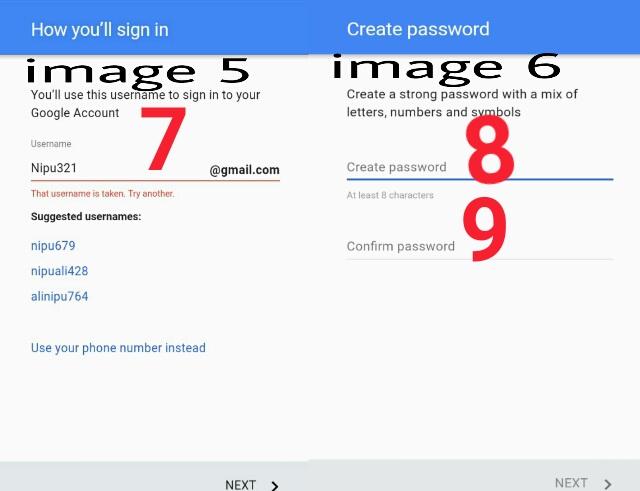 how to create bwf id