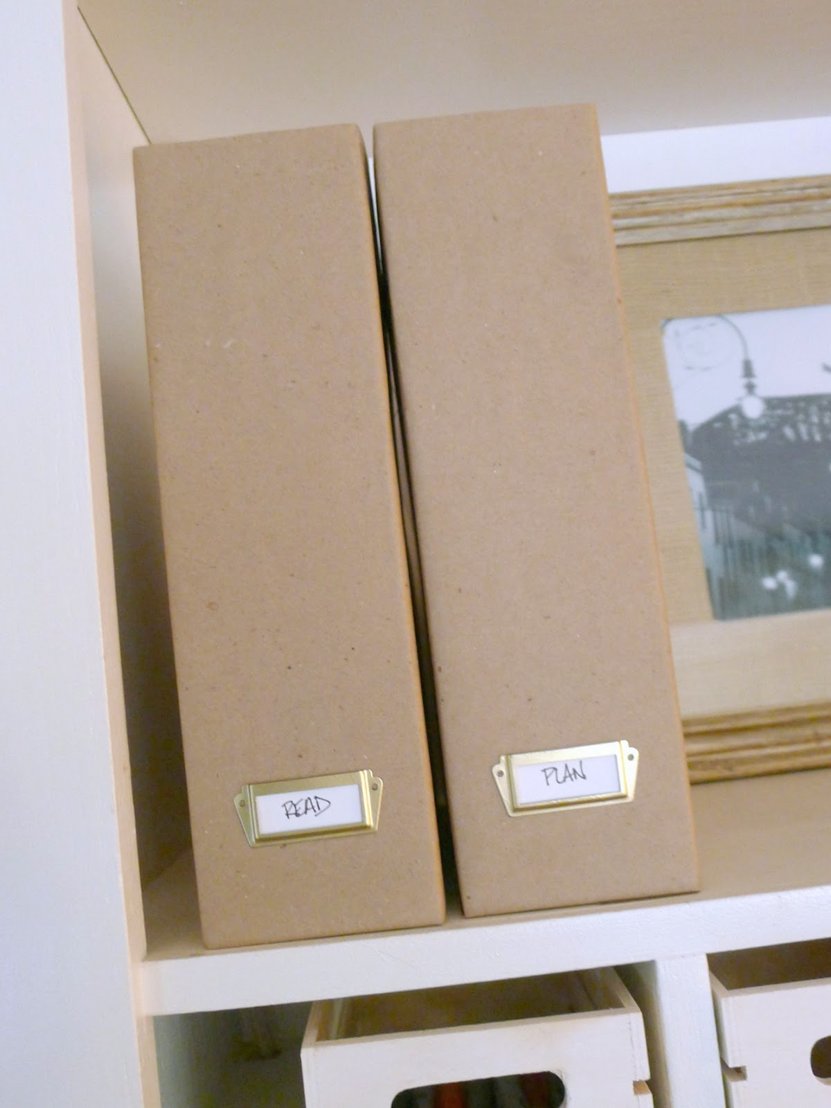 That Mommy Blog: Easy Fix for Cardboard Magazine Files (Ikea