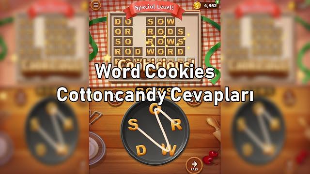 Word Cookies Cottoncandy Cevaplari