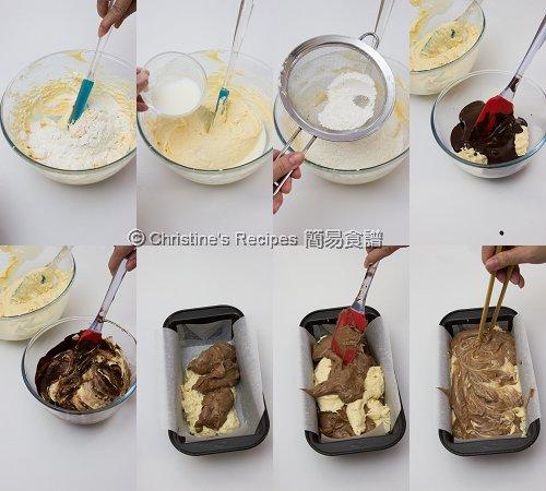 Chocolate Swirl Marble Pound Cake Procedures02