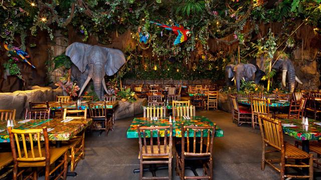 Rainforest Cafe em Orlando