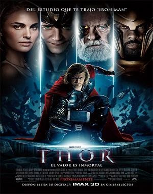 Thor (2011) HD 720, 1080p Dual Latino-Inglés