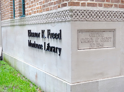 Central Church of Christ before, now Eleanor K. Freed Montrose Branch Library