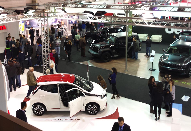 autokinisi Οδήγησε τα νέα μοντέλα στην έκθεση Αυτοκινήτου το επόμενο Σάββατο 14 Νοεμβρίου