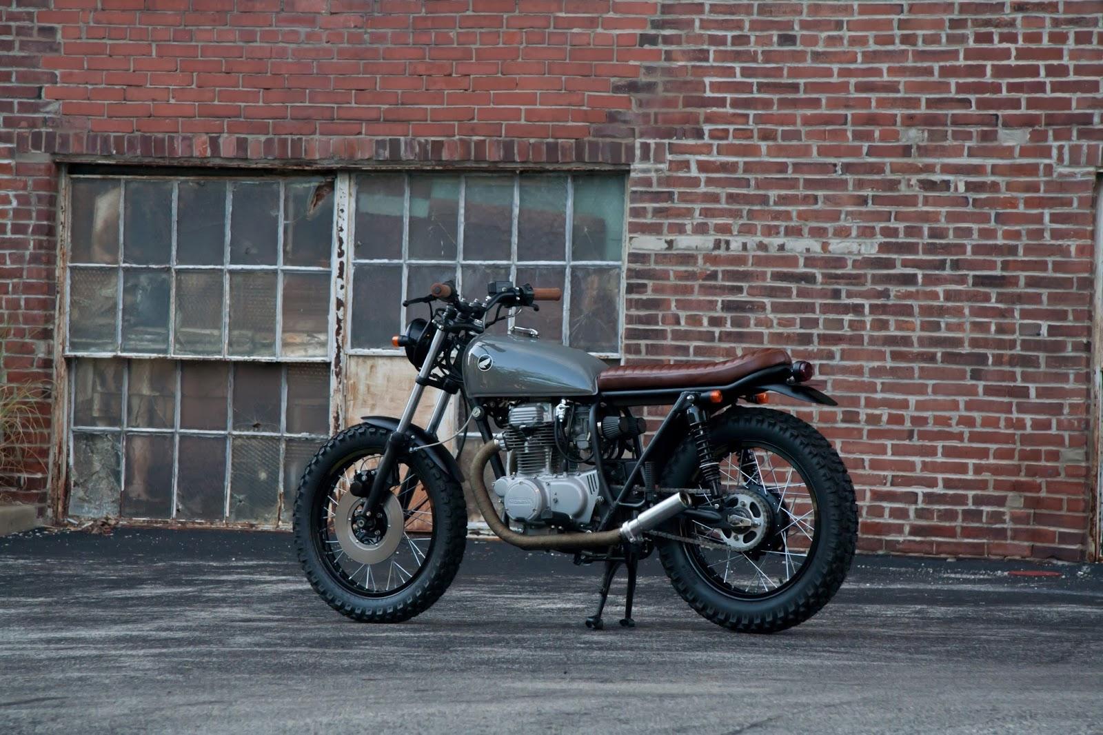 U03df Hell Kustom  U03df  Honda Cb360 1974 By Slipstream Creations