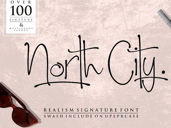 North City Signature Style Font Free Download