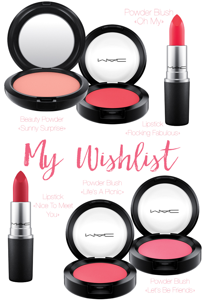 MAC «Flamingo Park» Preview + My Wishlist