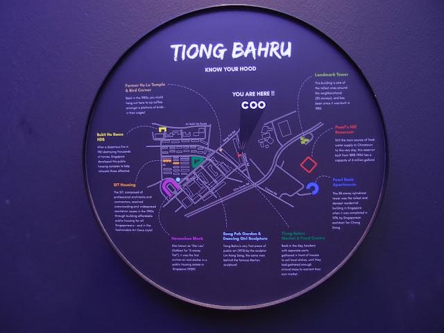 Tiong Bahru Map