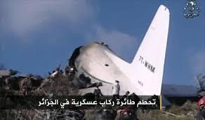 مقتل 257 مسافرا بتحطم طائرة عسكرية جزائرية